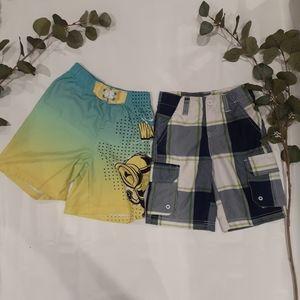 Minions & Northline boys summer shorts